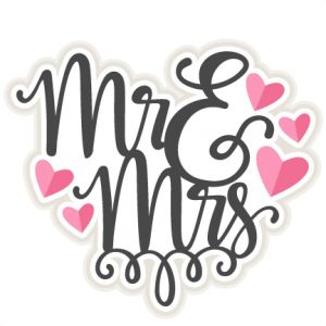 Mr & Mrs Title SVG scrapbook cut file cute clipart files for silhouette cricut pazzles free svgs free svg cuts cute cut files