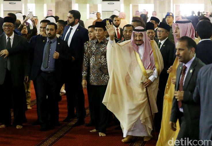 Raja Salman Masjid Istiqlal