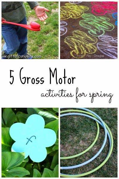 68 best spring themed games gross motor fine motor for Fine and gross motor skills activities