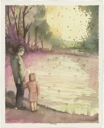 Christopher Orr. Untitled (Scientist and Pond). (2003)