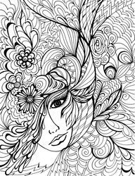 fantasy coloring pages for adults dover coloring pages coloring pages - Fantasy Coloring Pages Adults