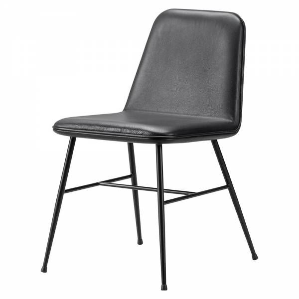 Spine Dining Chair Leather Black Metal Metal Chairs Leather Dining Chairs Dining Chairs