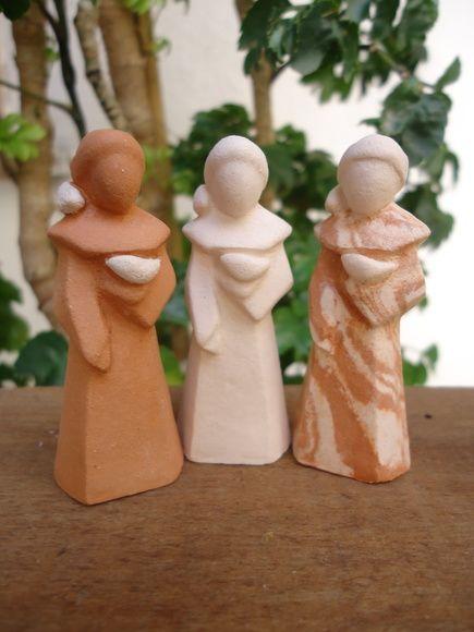 São Francisco de Assis - Cerâmica
