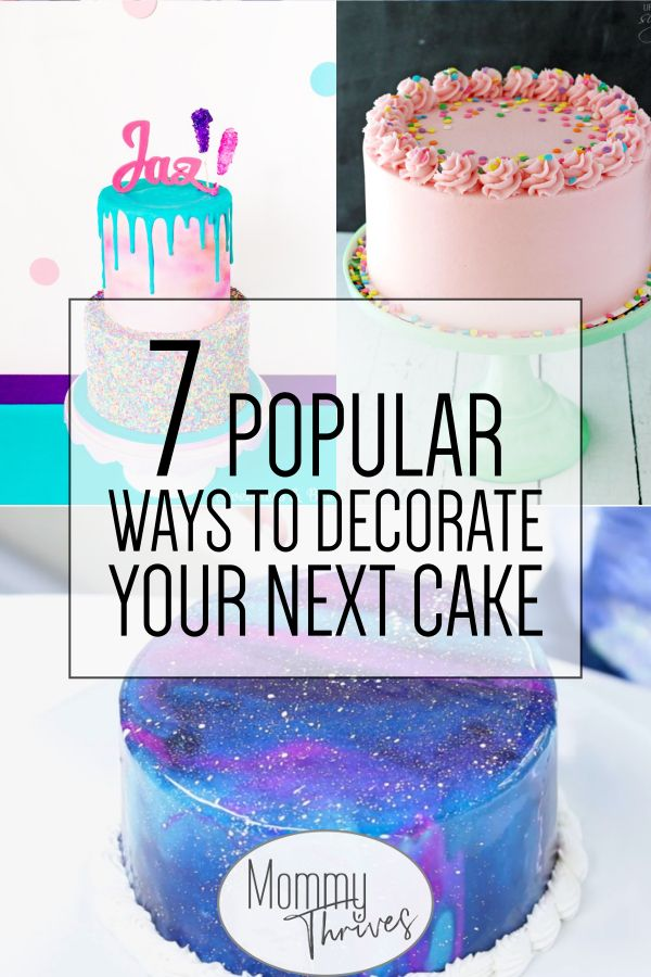 7 Easy Cake Decorating Trends For Beginners With Images Easy