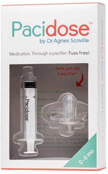 PACIDOSE Pacifier Medicine Syringe