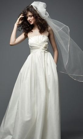 Wedding Dresses With Pockets 06 Watters Someday I Might