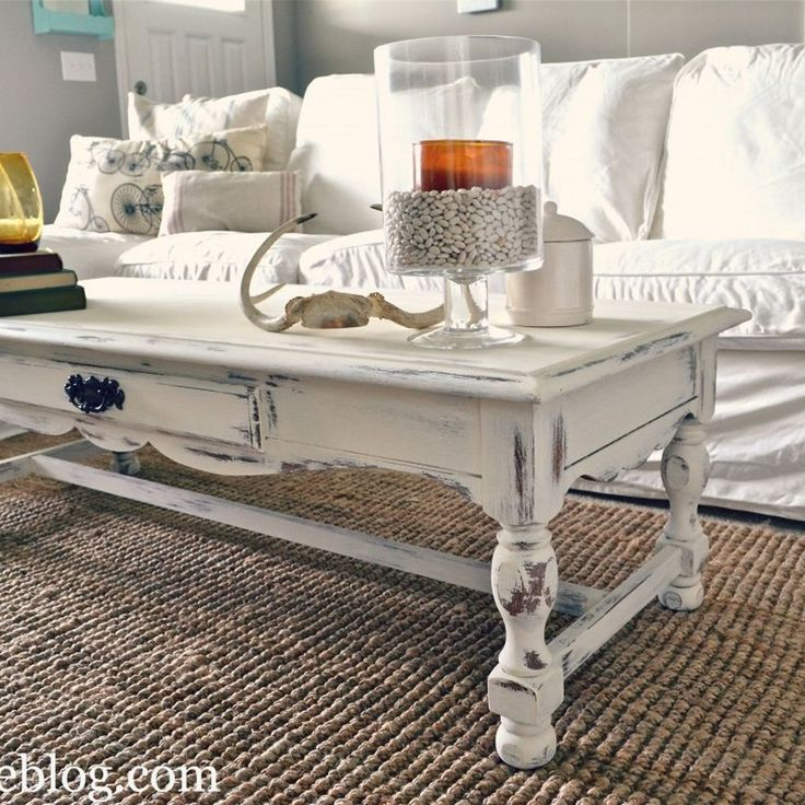 Shabby Chic Corner Coffee Table: Best 25+ White Coffee Tables Ideas On Pinterest