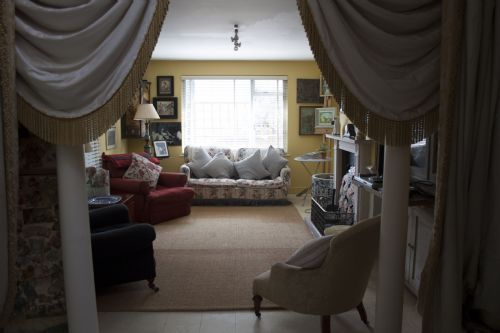 Very cosy!!! A cottage's living room in Tehidy, Portscatho - Roseland & St Mawes cottages