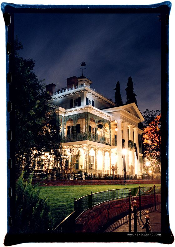 Disneyland Haunted Mansion by Mike Carano