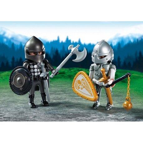 Mamy nowych rycerzy:) mają po 7,5 cm :):)  Aż dwie figurki w jednym zestawie Playmobil 6847 Duo Pack dla dzieci od lat 4.  Tarcze, miecze, topór oraz inne akcesoria tematyczne.  Pojedynek można rozpoczynać:) Świat dzielnych i walecznych rycerzy czeka na Ciebie!  Sprawdźcie sami:)  http://www.niczchin.pl/figurki-playmobil/3344-playmobil-6847-duo-pack-pojedynek-rycerzy.html  #playmobil6847 #rycerze #figurki #duopack #zabawki #niczchin #kraków