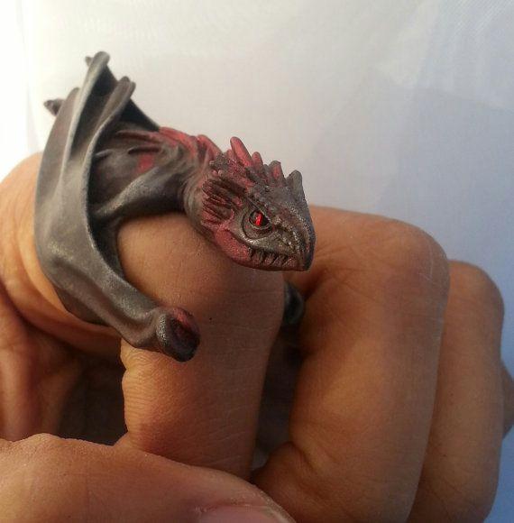 Dragon Ring - Dragon Egg Jewelry Box