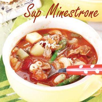 Sup Minestrone :: Klik link di atas untuk mengetahui resep sup minestrone