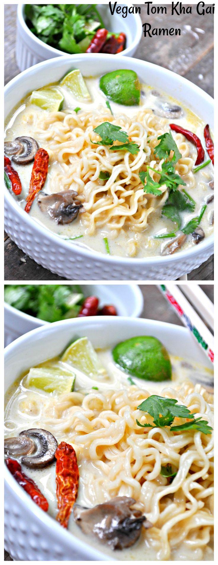 Vegan Tom Kha Gai Ramen