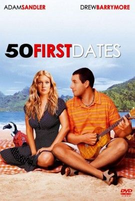 50 First Dates http://www.imdb.com/title/tt0343660/