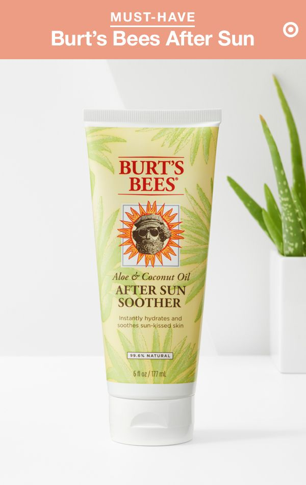 Let's face it—your skin goes through a lot in the summer. And Burt's Bees After Sun Soother is the lifesaver to help it recover. This intensely hydrating formula is designed for both face and body and boasts aloe vera, coconut oil, bee pollen and Linden extract (an antioxidant-packed tree flower). Apply it as soon as you're out of the sun to help alleviate burns and prevent peeling. Trust us, even if you're not burned, you'll want to drench your skin in this soothing goodness.
