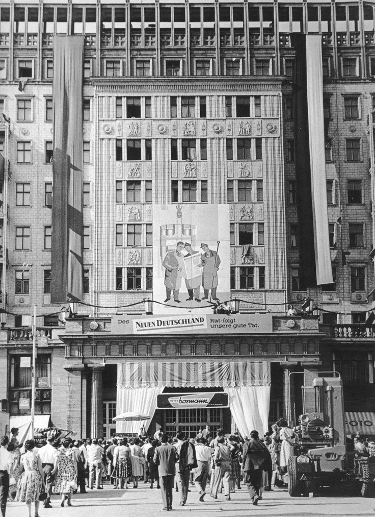 Richard Paulick, Wohnblock C-Nord, 1952
