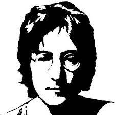 Resultado de imagen para john lennon desenho caricatura