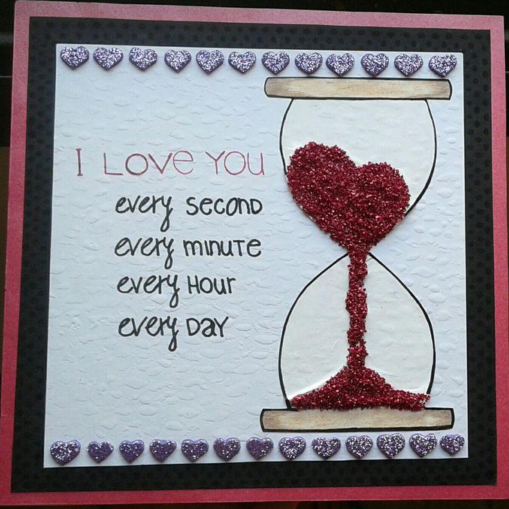 "Cuadrito de madera ""Te quiero cada segundo, cada minuto, cada hora, cada dia"" -7 meses-"