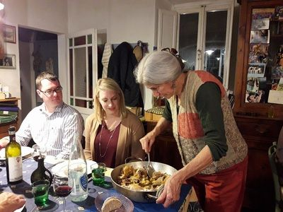 Lazy Italian Culinary Adventures Culinary tour offering - Culinary tours to Florence, Rome and Bologna, Italy. Cooking classes in the Boston area
