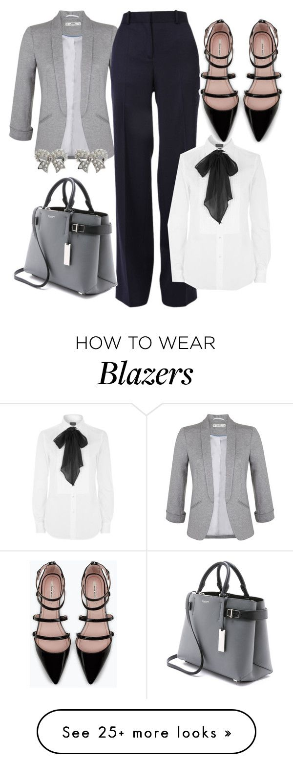 """Fall~Work"" by letiperez01 on Polyvore featuring Miss Selfridge, Polo Ralph Lauren, Michael Kors, Zara and M&Co"