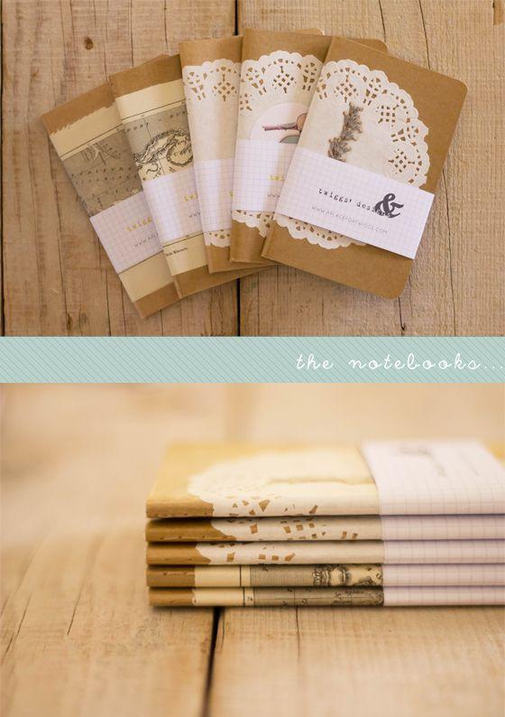 delightful notebooks by twiggs' designs