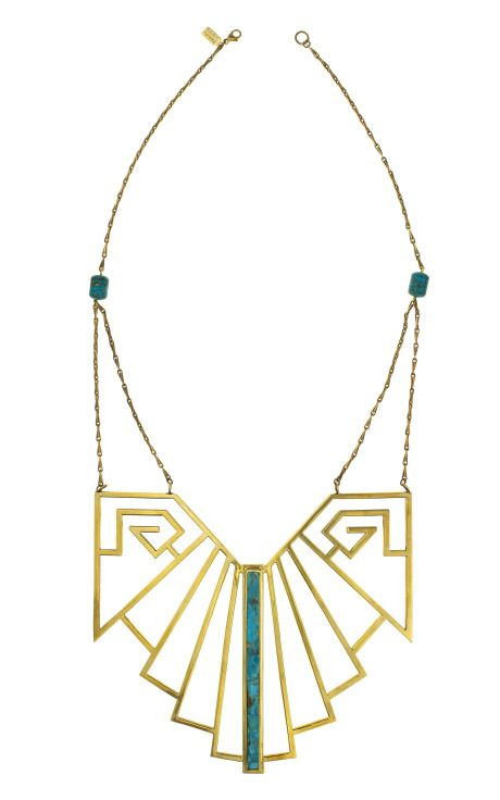 Necklace by pamela love, courtesy of Purple mag products. I want to own a piece of jewellery with a 'lobster clasp' one day