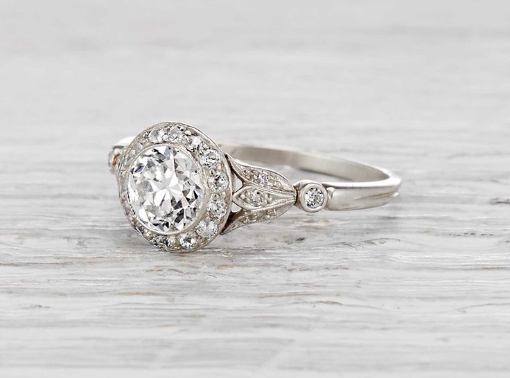 .75 Carat Edwardian J.E. Caldwell Engagement Ring