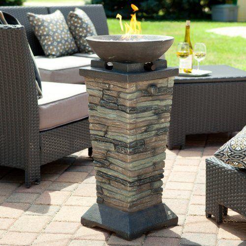 Coronado Propane Fire Column