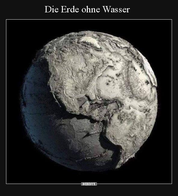 Die Erde Ohne Wasser