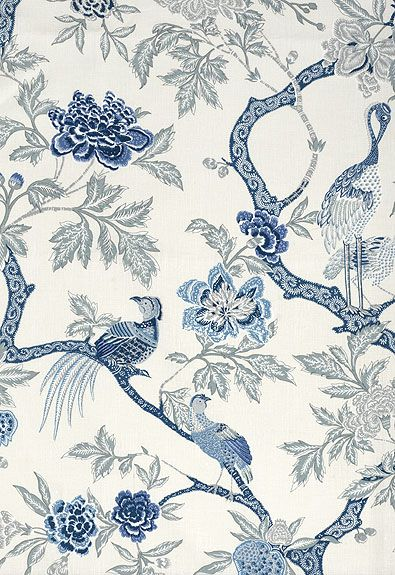 Schumacher Fabric Arbe Chinois FS-174081