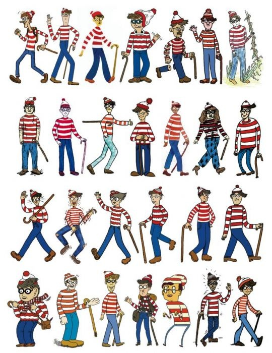 Cartooning The Ultimate Character Design Book Ebook : Best images about where s wally on pinterest