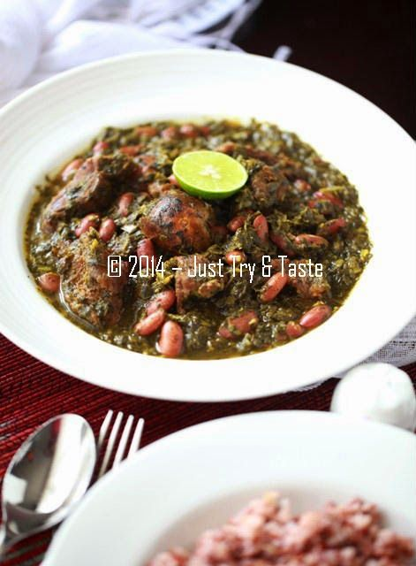 Just Try & Taste: Ghormeh Sabzi - Cara Lezat Menyantap Sayuran a la Iran