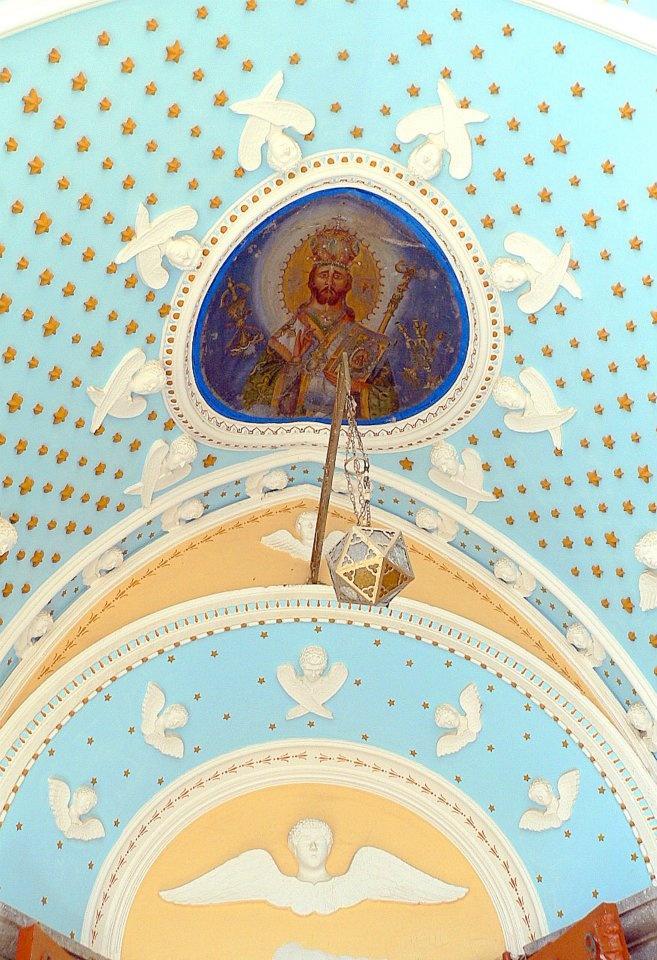 The monastery of Panormitis, Symi