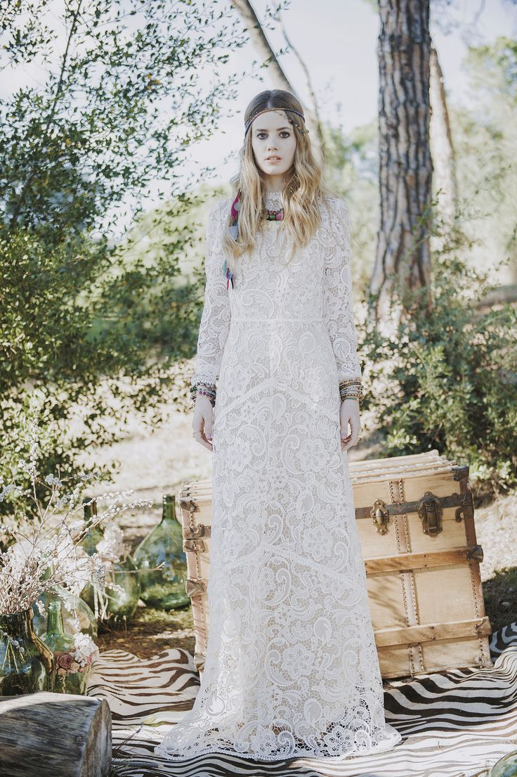 Vintage inspirado vestidos de novia uk
