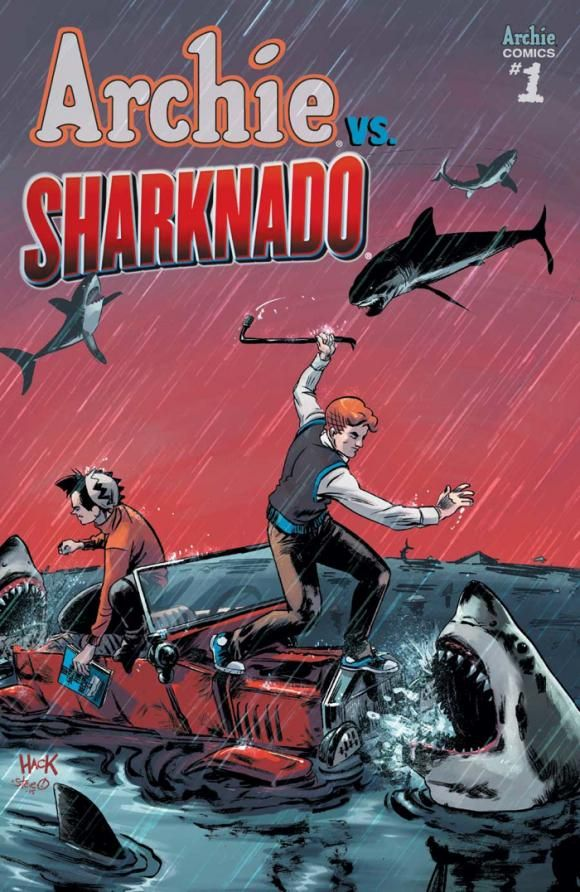 Image of the Day: Teen-chomping Archie vs. Sharknado #1 cover | Blastr