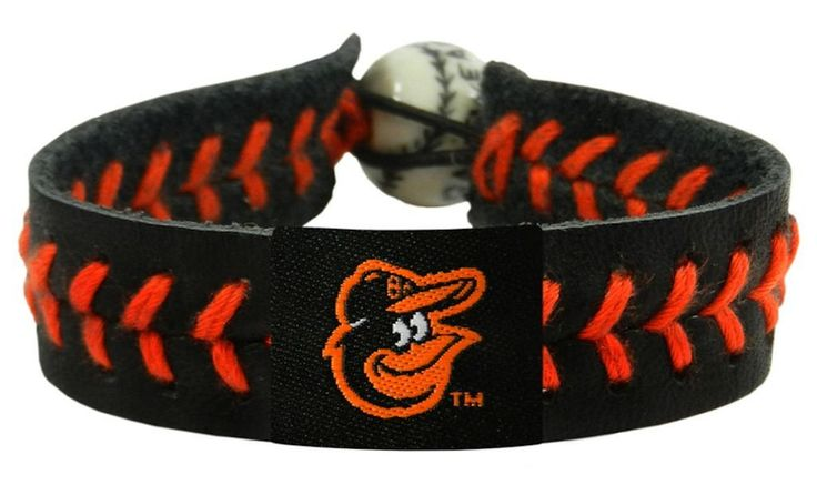 Baltimore Orioles Baseball Bracelet - Team Color Style