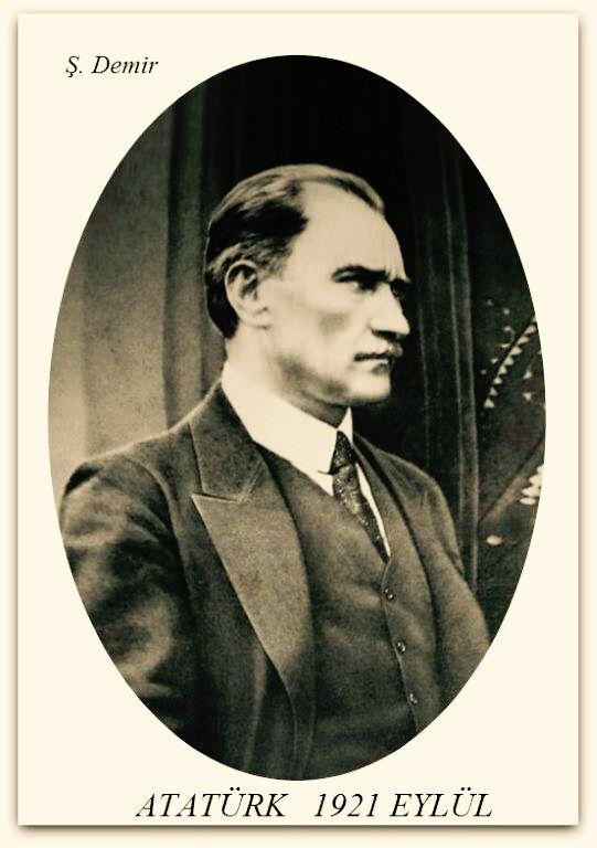 Atatürk Ankara Çankaya'da. Eylül 1921