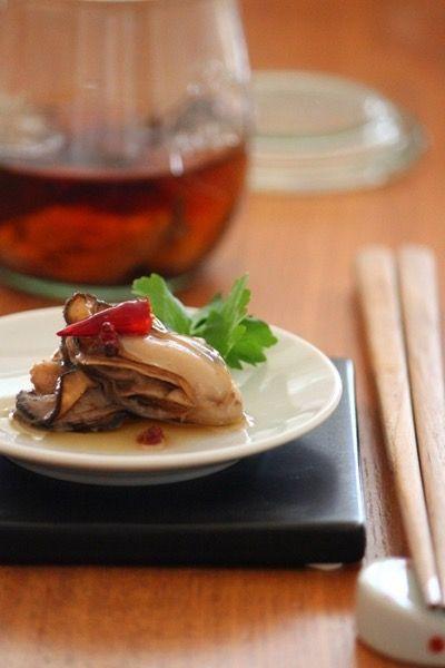 牡蠣のオイル漬け。ごま油で。 by 栁川かおり | レシピサイト「Nadia ...