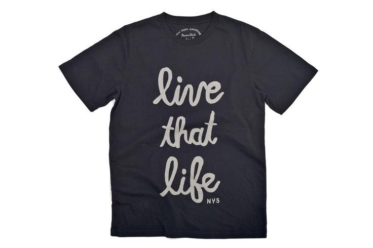 Live That Life Shirt   www.NewYorkSunshine.com