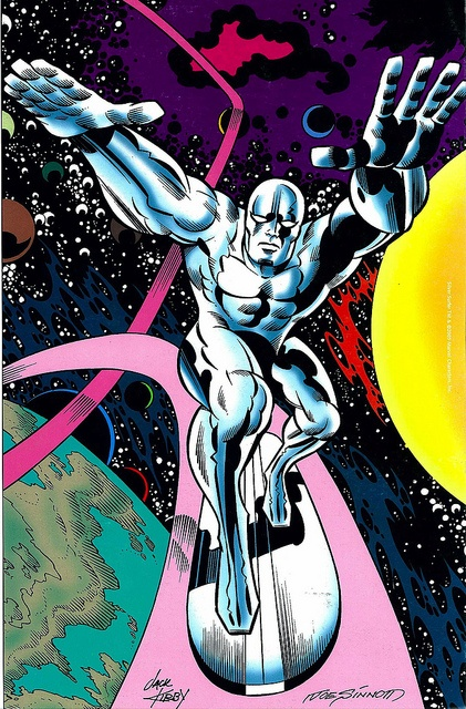 Silver Surfer by Jack Kirby and Joe Sinnott