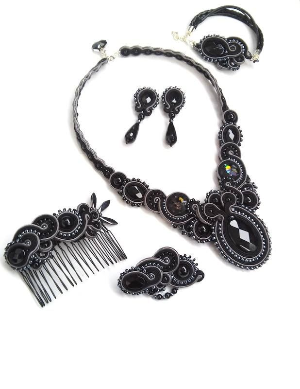 Soutache set by MaNiko https://www.facebook.com/maniko2013