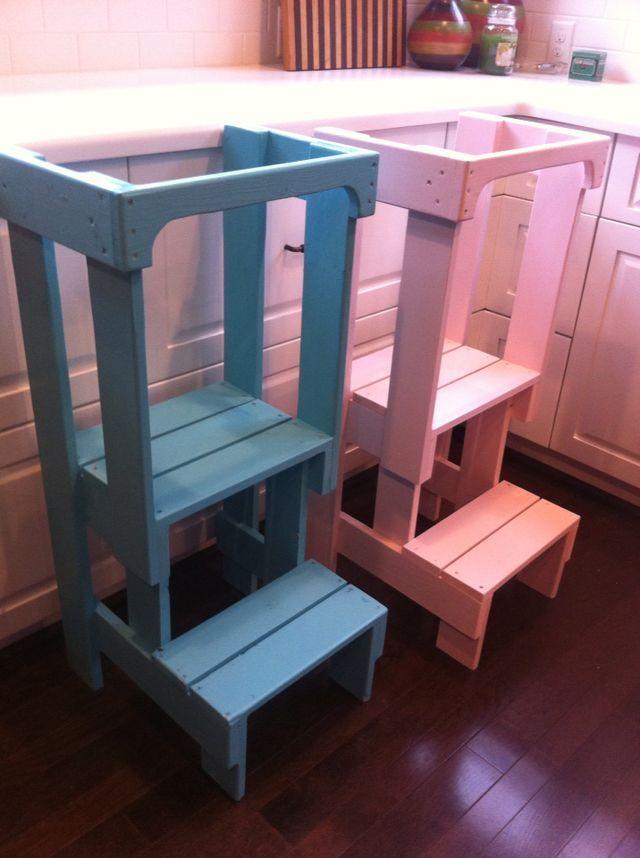 25 Unique Toddler Kitchen Stool Ideas On Pinterest