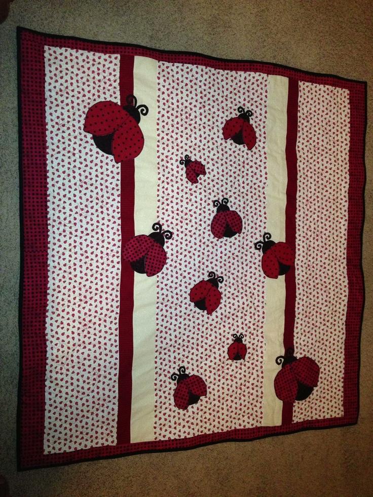 227 best images about ladybug quilt on Pinterest