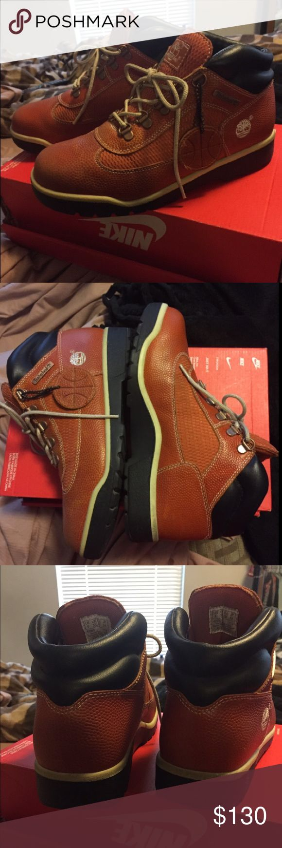 Timberland Field Boot Basketball Leather Limited E Timberland Field Boot Basketball Leather Limited Edition (Size Big Boys 6 Equivalent to Women's 7.5 ) - EXCELLENT CONDITION Timberland Shoes Boots