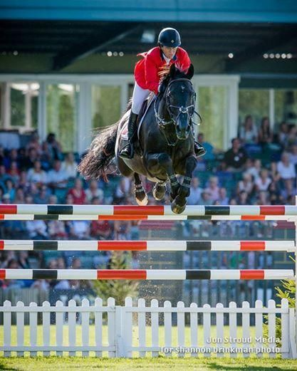 Historic win for Beezie~first woman to win King George V Gold Cup (in 108 years!) Hickstead 2014