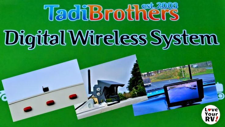 See full blog post - http://www.loveyourrv.com/reviewing-tadibrothers-rv-backup-camera/  In this video, I review the TadiBrothers Wireless RV Backup Camera System. I go through the pros and cons of the system as I see them after several weeks of use, then demonstrate the wireless range.