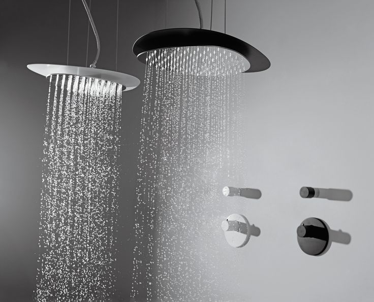 Cloud showerhead - Meneghello Paolelli Associati design #fimacarlofrattini #fmacf #cloud #bathroom #wellness #design #ceilingmounted #white #black #luxury #water