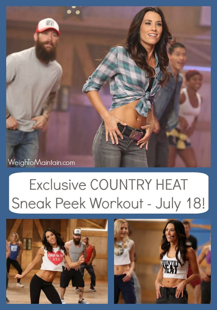 Try an exclusive sneak peak Country Heat workout on July 18th!  Country Heat is Autumn Calabrese's new cardio workout, inspired by the best of country music.  You can sample the workout for free on Beachbody on Demand July 18th. Click for details.