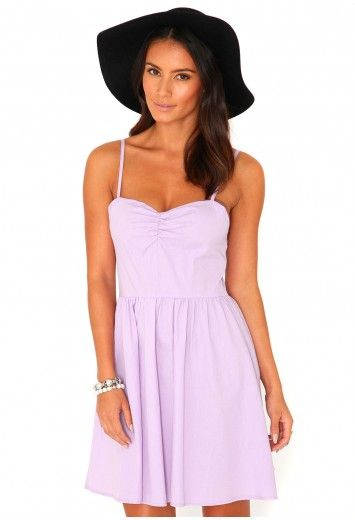 Tulissa Strappy Skater Dress - dresses - missguided