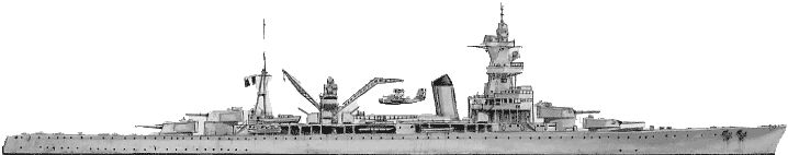 Algérie was a French heavy cruiser that served during the early years of World War II.